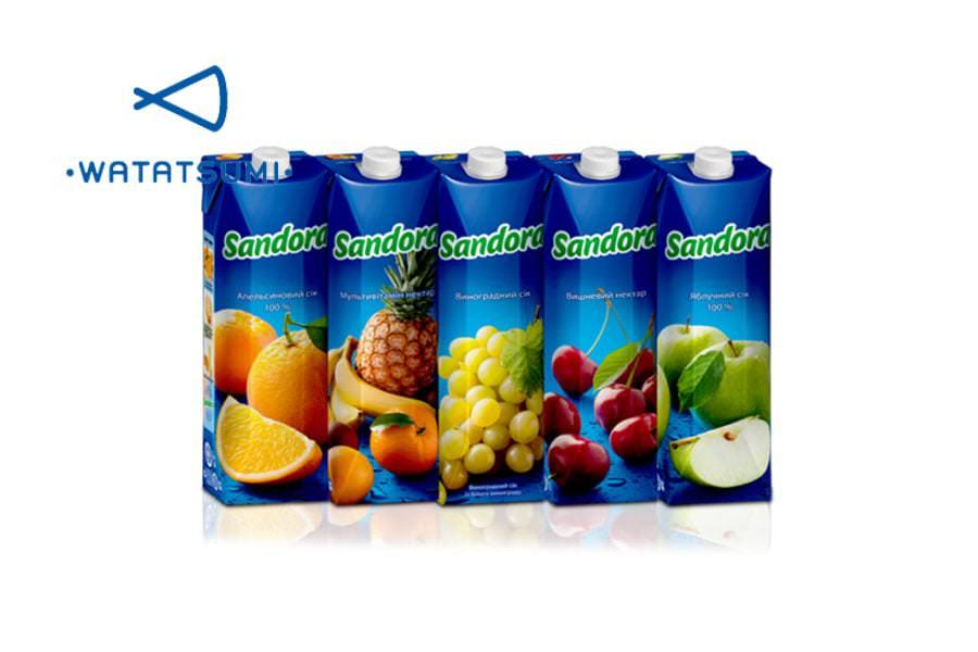 Сок «Сандора» яблоко (1л) доставка