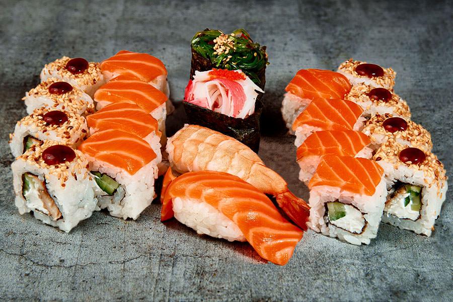 Заказать блюда японской кухни в г. Харьков — обзор заведений