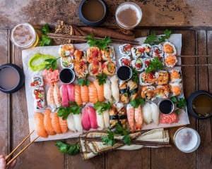 суши на дом