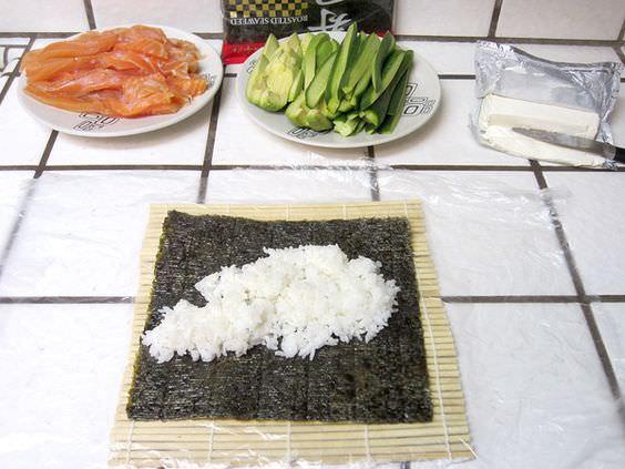 рецепт риса для суши