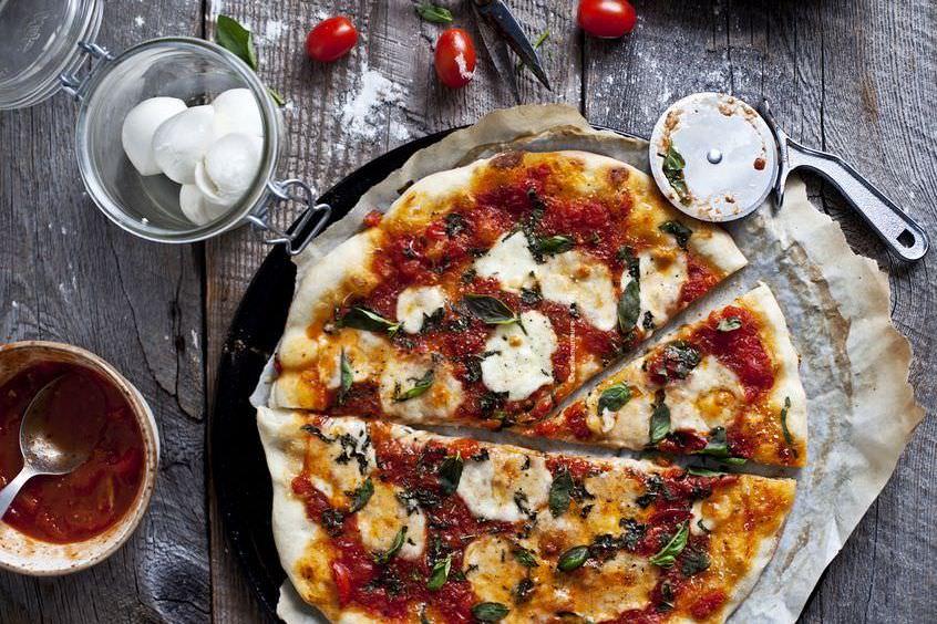 как приготовить пиццу дома